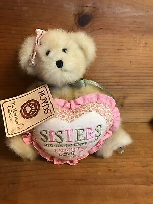 """Boyds Bears """"sisters Are Always There...."""" Bear"""