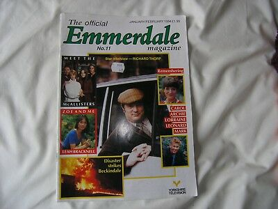 Emmerdale magazine number 11 from Jan 1994