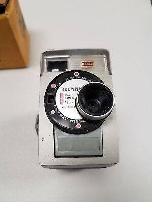 vintage Brownie movie camera