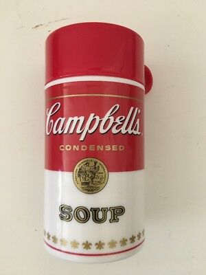 Campbell's Condensed Soup Can-Tainer thermos style 11.5 ounce Mug Container 1998