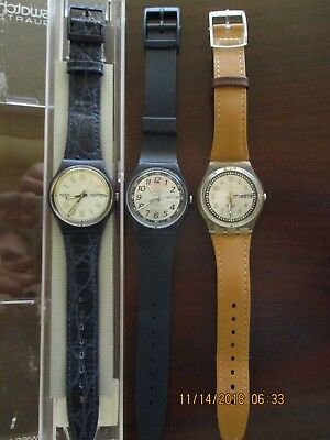 Very Nice Lot Of 3 Classic Style Swatches, All Running, With Free Shipping!!
