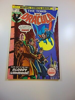 Tomb of Dracula #34 VF- condition MVS intact Huge auction going on now!