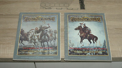 TSR AD&D 2nd Edition Forgotten Realms Campaign Setting ohne Box englisch