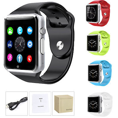 A1 Smart Wrist Watch Bluetooth GSM Phone For Android Samsung  Iphone Waterproof