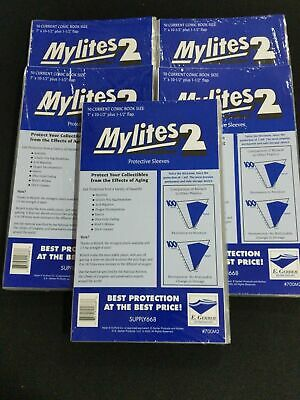 500 E. Gerber Mylites 2 Mil Mylar Current- Modern Age Comic Book Sleeves 700M2