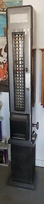 U-Select-It 25 Cent Candy Cigarette  Machine Vintage Vending Machine