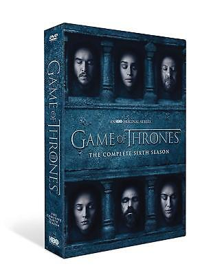GAME OF THRONES Season 6 The Complete Sixth Season DVD New Sealed  *Fast Postage
