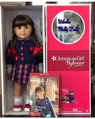 American girl Doll Molly Beforever doll and Book NEW IN BOX