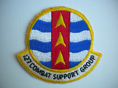 127th Combat Support Group Michigan Air National Guard USAF Patch