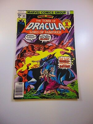 Tomb of Dracula #64 VF condition Free shipping on orders over $100.00!
