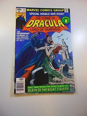 Tomb of Dracula #70 FN- condition Free shipping on orders over $100.00!