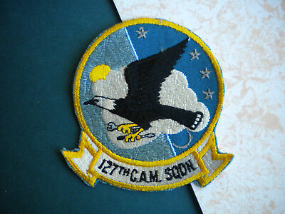 127th Consolidated Aircraft Maintenance Squadron Michigan ANG USAF Patch