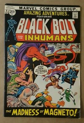 Amazing Adventures #9  Inhumans / Black Bolt 1971 Marvel Comics