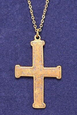 Metropolitan Museum of Art MMA Medieval Byzantine Cross Necklace Pendant w/chain