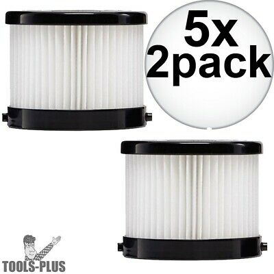 Milwaukee 49-90-1951 2Pk HEPA Filter for 0882-20 5x New