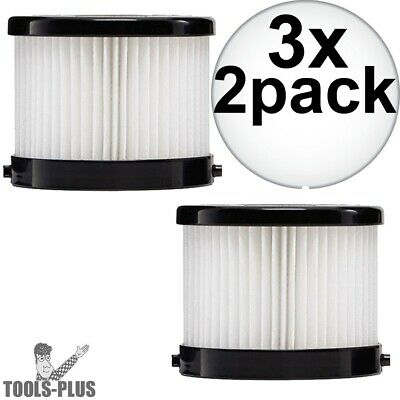 Milwaukee 49-90-1951 2Pk HEPA Filter for 0882-20 3x New