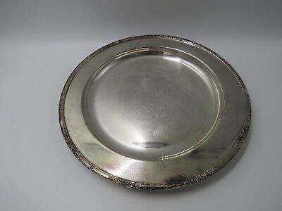 "International Silver Company Round 14"" Camille,Platter"