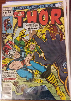Marvel Comics - The Mighty Thor  #266 - Bronze Age