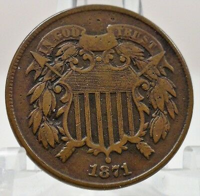 1871 United States two cent, #66718