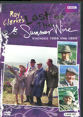 Last of the Summer Wine: Vintage 1988 and 1989 (2-Disc Set) BBC Roy Clarke