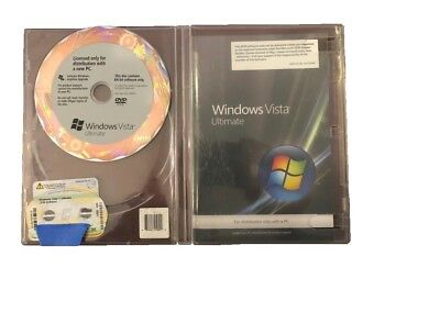 Microsoft : Windows Vista Ultimate 64bit