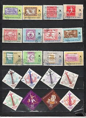 Haiti- Lot Of Early Used Stamps(HAIT7)