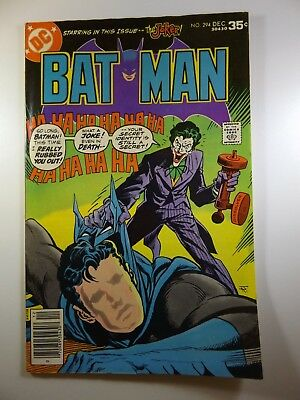 """Batman #294 """"Testimony of the Joker!"""" Fine+ Condition!! Awesome!!"""