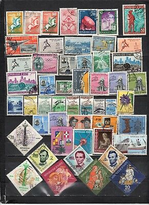 Haiti- Lot Of Early Used Stamps(HAIT6)