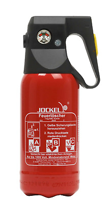 Ps1jm 8 Jockel Fire Extinguisher Mini 1kg Abc Car Pulverfeuerlöscher 2le