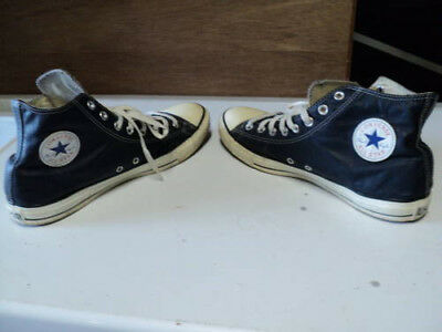 Blue Converse All Star rubber shoes size 12