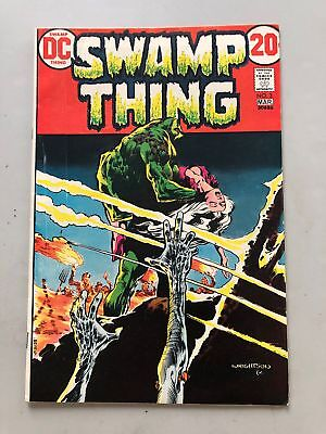 Swamp Thing (1972 1st Series) #3 FN Fine