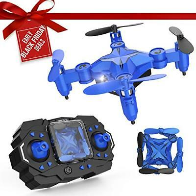 DROCON Mini RC Drone for Kids, Portable Pocket Quadcopter with Altitude Hold ...