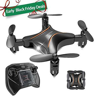 Drocon DC-65 Foldable Mini RC Drone for Kids, Portable Pocket Quadcopter with...
