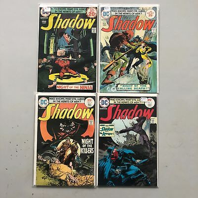 Lot of 4 Shadow (1973 1st Series DC) #6 9-11 VF Very Fine