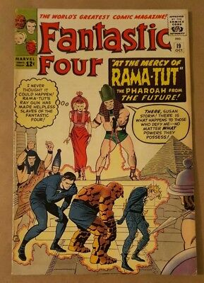 Fantastic Four #19 (1964 Marvel) 1st appearance of Rama-Tut Silver Age No CGC