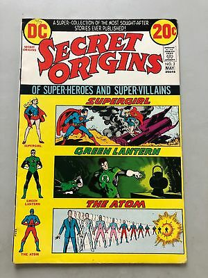 Secret Origins (1973-1974 1st Series) #2 VF Very Fine