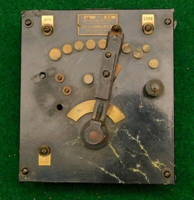 Cutler - Hammer Electric Rheostat   c. 1890 Genuine Antique - Vintage Steampunk