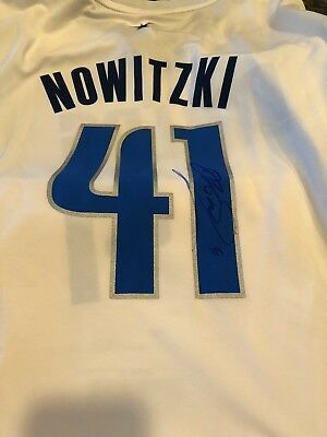 bcae43b68a8 Dirk Nowitzki Signed Dallas Mavericks Jersey AUTOGRAPHED Signed Authentic  NWT
