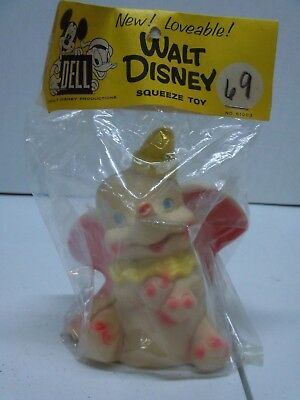 Vintage Dumbo Squeak Toy By Dell Walt Disney Productions