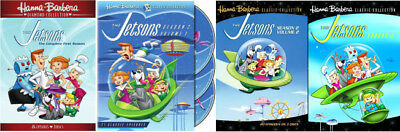 The Jetsons Complete TV Series - Season 1,2,3 - Brand NEW Sealed DVDs - 85 Epis