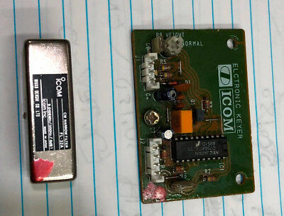 Icom IC-735 Keyer Module and CW Filter