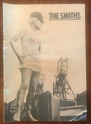 The Smiths / Morrissey 1985 Meat Is Murder Us Tour Program