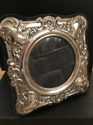 Solid Silver Frame Photograph Picture Hallmarked Birmingham 1987