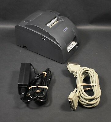 Epson TM-U220PD Model M188D Serial Dot Matrix Receipt Printer