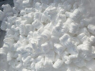 16 Cubic Feet White Packing Peanuts Shipping Anti Static Loose Fill 120 Gallons