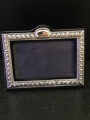 Solid Silver Frame Photograph Picture Hallmark London 1986