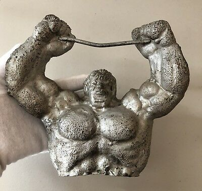 Vintage 1978 Marvel Funstuff Inc THE INCREDIBLE HULK Original Copper Mold RARE!!