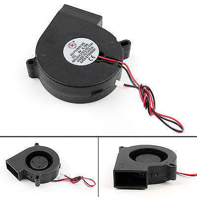 1Pcs Brushless DC Cool Blower Fan 5V 7525S 75x75x25mm 0.18A Sleeve 2 Pin Wire B2