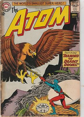 The Atom #5 Gd Gil Kane/ Murphy Anderson 1963