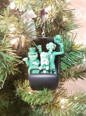 Disney Parks Hitchhiking Ghosts Doom Buggy Holiday Ornament